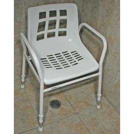 Ex Rental Shower Chair Aluminium